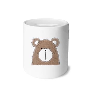 البساطة نمط الدب السمين السيراميك الخنزير البنك