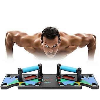 9 In 1 Push-up Rack Training Board Abs Bauchmuskeltrainer Sport Home Fitness Geräte