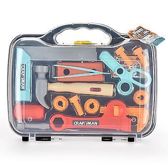 Kinder Spielzeug Werkzeug Set Kunststoff Reparatur Werkzeug Lernen Lernspielzeug