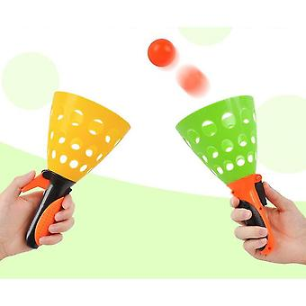 Pass-catch loptová hra s 2 odpaľovacími košmi a 2 loptičkami