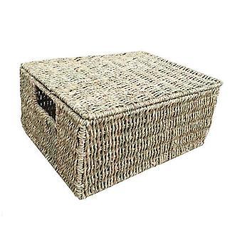 Medium Seagrass Storage Basket