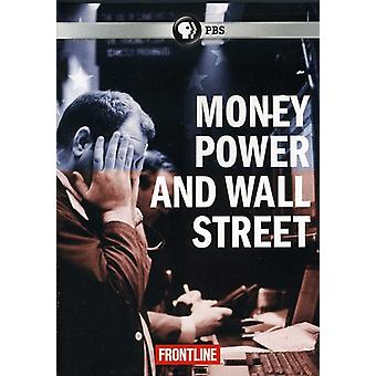 En direct - Frontline : Argent puissance & Wall Street [DVD] USA import
