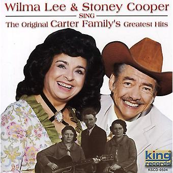 Cooper, Wilma Lee & Stoney - Sing oprindelige Carter Family [CD] USA import