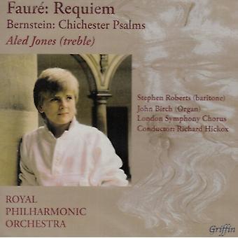 G. Faure - Faur : Requiem; Bernstein: Chichester Psalms [CD] USA import