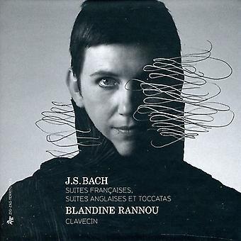 J.S. Bach - J.S. Bach: Suites Fran Aises; Suites Anglaises Et Toccatas [CD] USA import