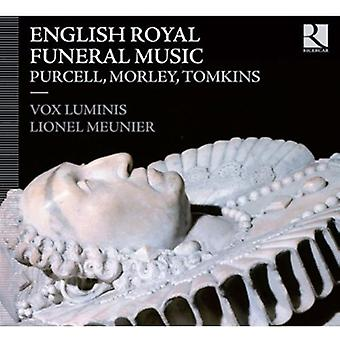 H. Purcell - English Royal Funeral Music [CD] USA import