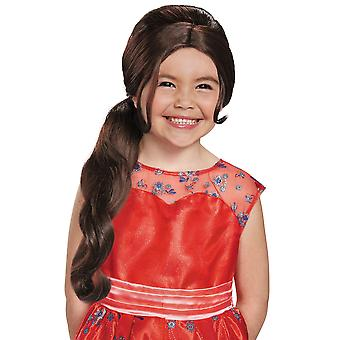 Elena Adventure Princess of Avalor Disney Book Week Girls Costume Wig