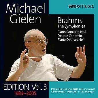 Brahms / Kaplan / Wdr Rundfunkchor Koln - Gielen Edition: Vol 3 [CD] USA import