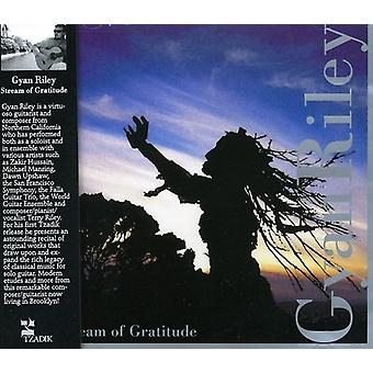 GYAN Riley - importation USA Stream de Gratitude [CD]