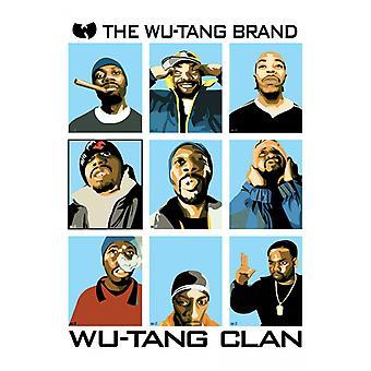 Wu Tang Clan Brand plakat plakat Print