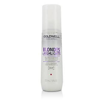 Goldwell Dual Senses Blondes & Highlights Brilliance Serum Spray (luminosity For Blonde Hair) - 150ml/5oz