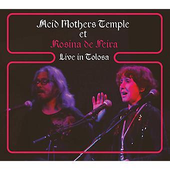 Acid Mothers Temple Et Rosina De Peira - Live in Tolosa [CD] USA import