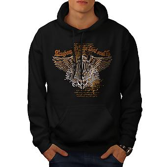Kingdom Lost Soul Men BlackHoodie | Wellcoda