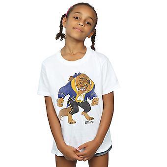 Disney Girls kauneus ja peto Classic peto t-paita