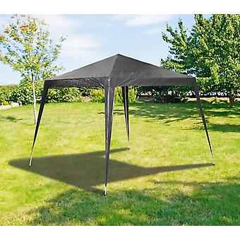 3x3x2.5m giardino Pop Up Gazebo tendone nero tenda a baldacchino