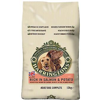 Harrington's Dog Dry Food Complete Rich In Salmon and Potato