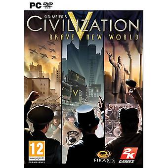 Sid Meiers Civilization V Brave New World Expansion Pack (PC DVD) - New