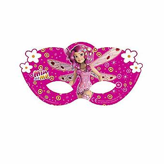 MIA & me Elf Unicorn party mask eye mask 6 piece children birthday theme party