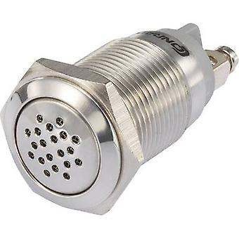 TRU komponenter 1231431 Mini buzzer støy: 75 dB spenning: 12 V intervall ekkolodd 1 eller flere PCer