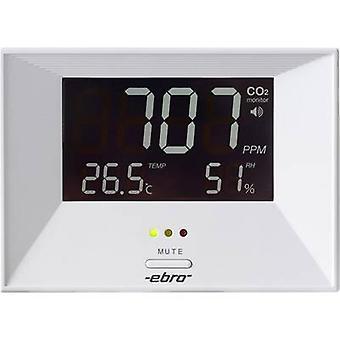 ebro RM 100 كاشف ثاني أكسيد الكربون 0 - 3000 صفحة / دقيقة ميزان الحرارة