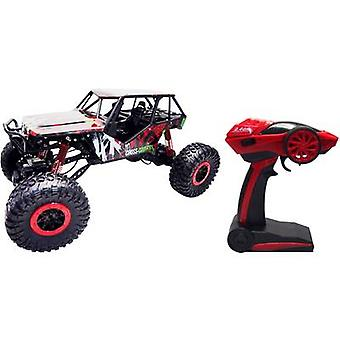 Amewi 22216 Crazy Crawler 1:10 RC model car for beginners Electric Crawler 4WD Incl. batteries and charger