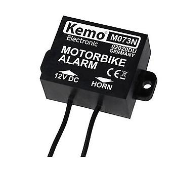 Kemo M073N אופנוע אזעקה רכיב 12 V DC, 24 V DC