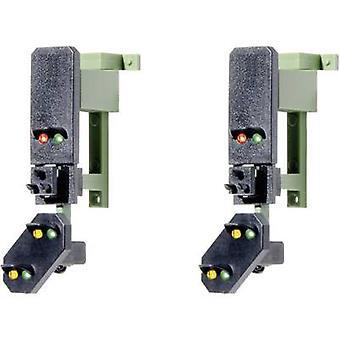 Viessmann 4752 H0-valo sisältää etukäteen signaalin lohko signaalit koottu DB