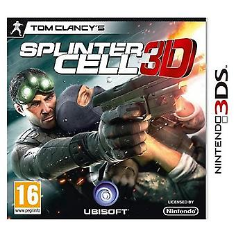 Tom Clancys Splinter Cell 3D 3DS Game
