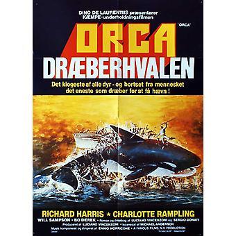 Poster do filme Orca (11 x 17)