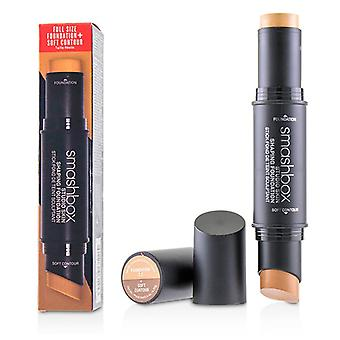 Studio Skin Shaping Foundation + Soft Contour Stick - # 2.2 Light Warm Beige - 11.75g/0.4oz