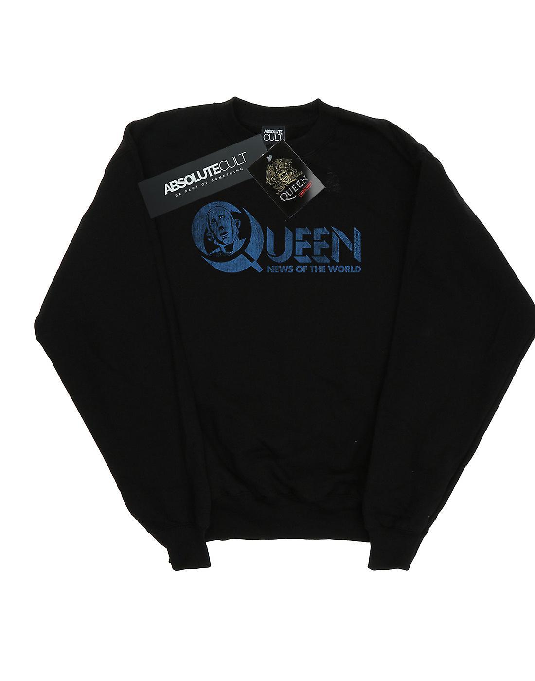 Queen Girls Distressed News Of The World Sweatshirt