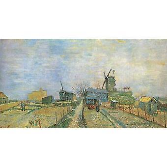 Moestuin in Montmartre, Vincent van Gogh, 44,8 x81cm