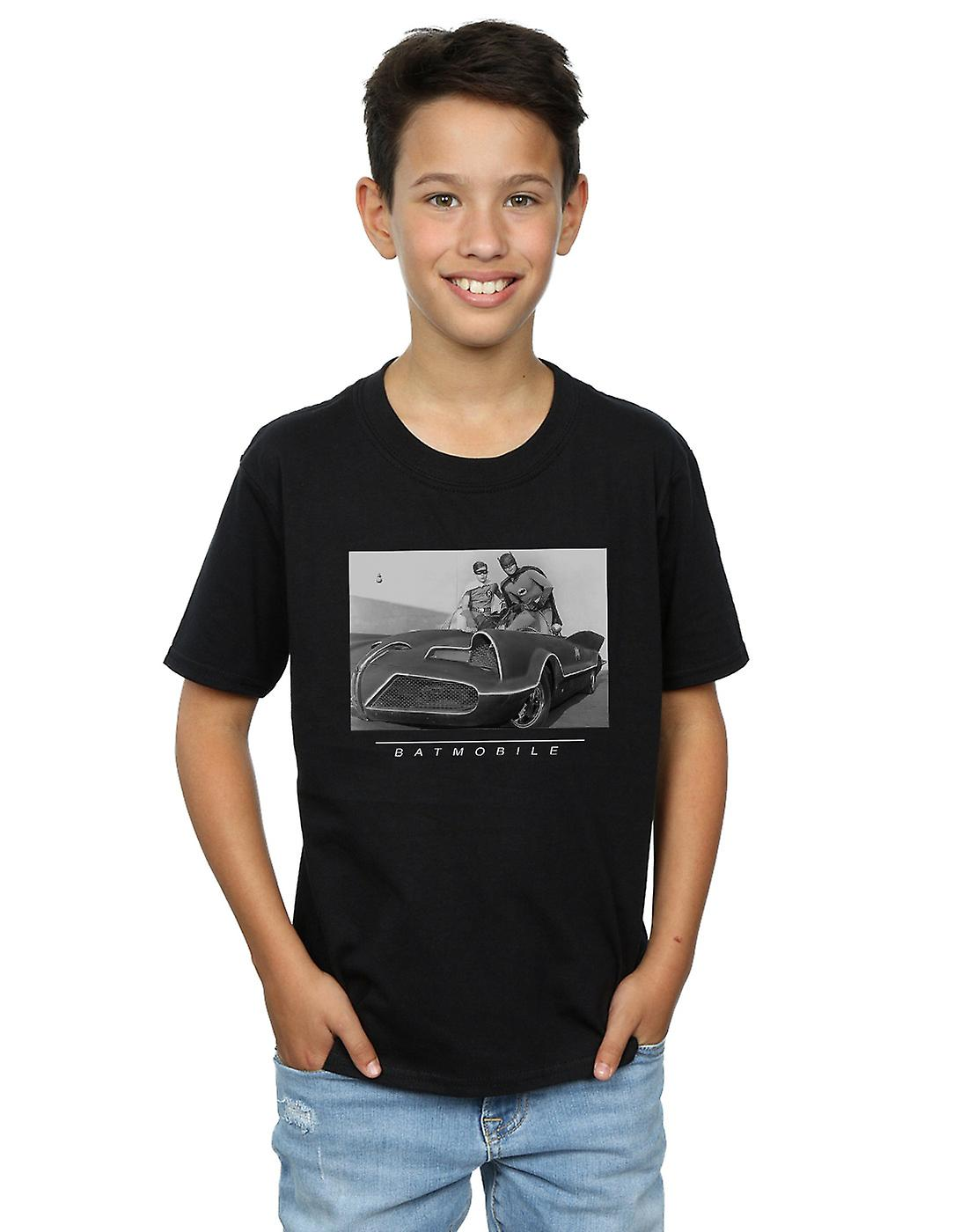 DC Comics Boys Batman TV Series Batmobile T-Shirt