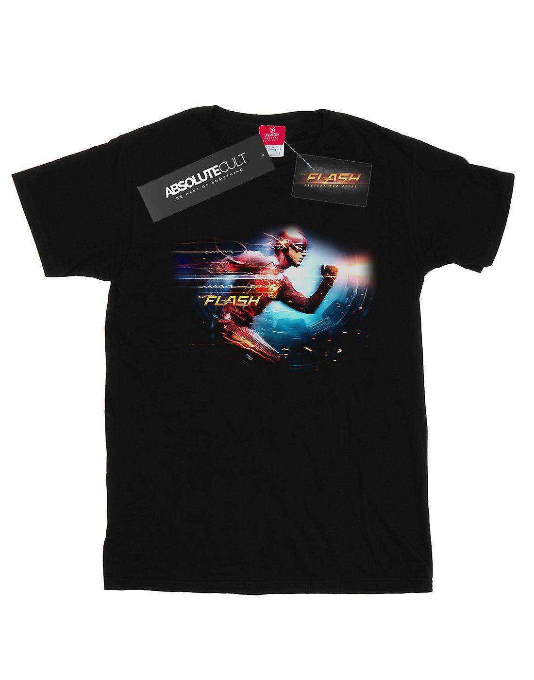 DC Comics Men's The Flash Sparks T-Shirt