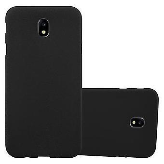 Custodia Cadorabo per Samsung Galaxy J7 2017 Case Cover - Custodia per cellulare in silicone TPU flessibile - Custodia protettiva in silicone Ultra Slim Soft Back Cover Case Bumper