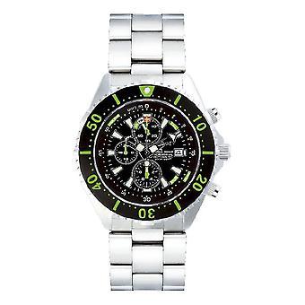CHRIS BENZ - Diver watch - DEPTHMETER CHRONOGRAPH 300M - CB-C300-G-MB