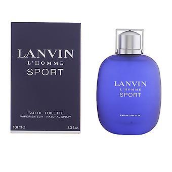 Lanvin Lanvin l'homme Sport Edt Spray 100 Ml pour les hommes