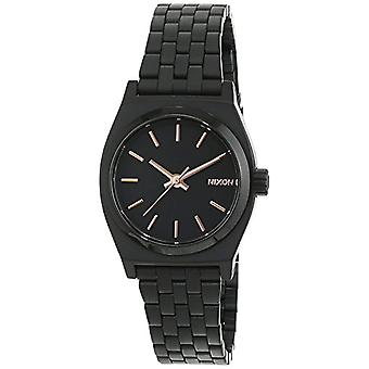Nixon A399957-00-wrist watch for women, stainless steel, color: black