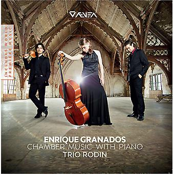 Granados / Trio Rodin - kammarmusik med Piano [CD] USA import