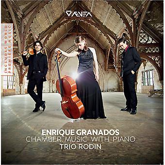 Granados / Trio Rodin - Chamber Music with Piano [CD] USA import