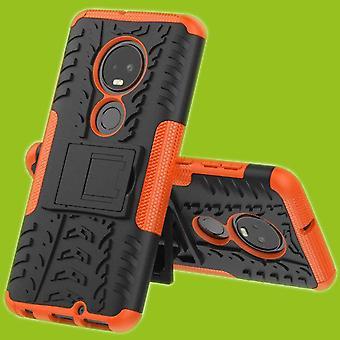 Para Motorola Moto G7 G7 más híbrido caja 2 pieza SWL bolso naranja al aire libre cubierta de la caja de protección del