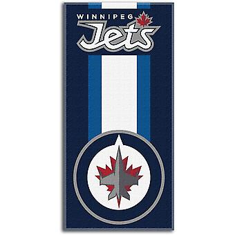Northwest NHL Strandtuch ZONE Winnipeg Jets 76x152cm