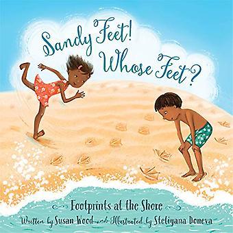Sandy voeten! Wiens voeten?: voetafdrukken op de oever