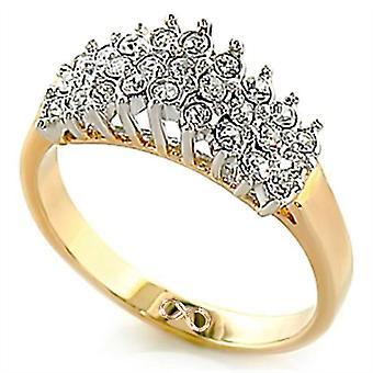 Ah! Jewellery Infinity Symbol Engraving Cluster Lab Diamonds Ring