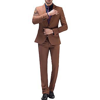 Allthemen Men es Suit Business Wedding 2-Pieces Suit Blazer & Pants 10 Farben