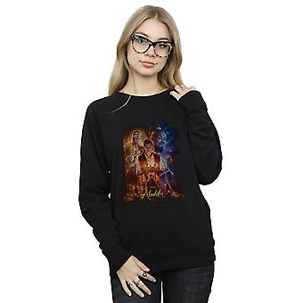 Disney Women's Aladdin Movie Poster Sweatshirt