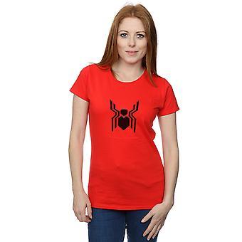 Marvel Women's Spider-Man Far From Home Emblem T-Shirt