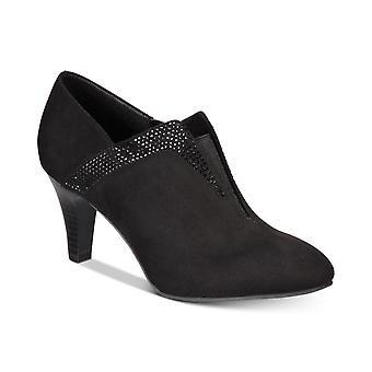 Karen Scott Womens Mikaah Fabric Closed Toe Ankle Fashion Boots