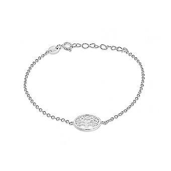 Eeuwigheid Sterling zilveren boom van het leven armband