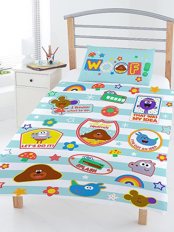 Hey Duggee Woof Junior Toddler Duvet Cover & Pillowcase Set